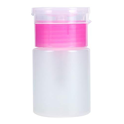 Distributeur à pompe - Distributeur à pompe 60ML Pompe à pompe Pompe à vernis à ongles pour Liquide à nettoyer à l' Bouteille en plastique vide (Couleur : Rose)