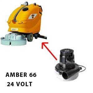 AMBER 66 24 volt Saugmotor AMETEK für scheuersaugmaschinen Adiatek