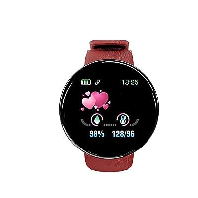 D18S BT4.0 Smart Watch Sleep Fitness Waterproof Watch,1.44 Inch Upgraded Screen Smart Watch Fitness Tracker Step Counter Activity for Women Men Kids
