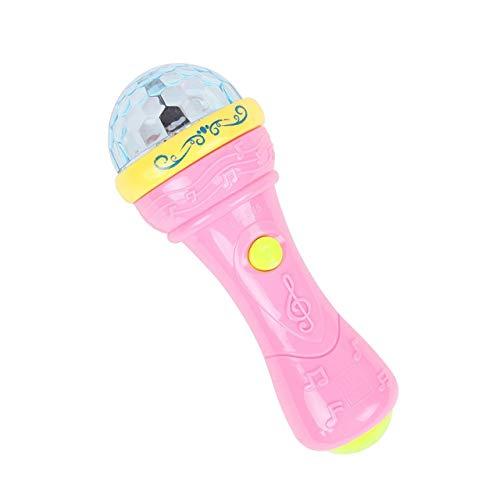 Manvik Enterprises ® 3D Light Musical Microphone Toy for Kids