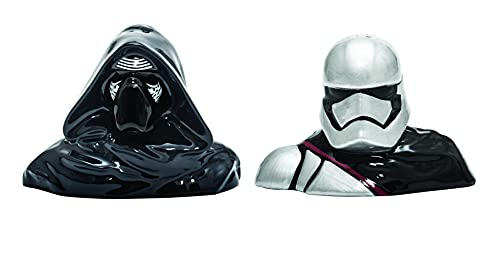Star Wars Salz-und Pfefferstreuer, Keramik, schwarz/weiß