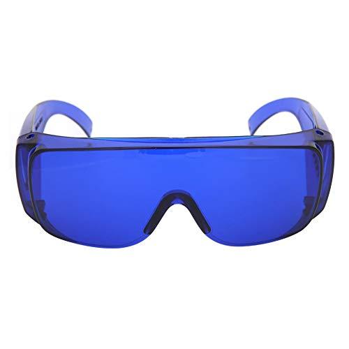 Jarchii Protección Ocular de Alta definición con Gafas, Visor de Bola de Tela, Gafas, Gafas de protección, Gafas, Arena de protección para Conducir, Correr