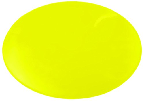 Dycem Non-Slip 10 Inch Circular Pad by Aids to Daily Living in Yellow - 50-1598Y