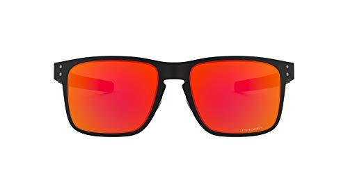 Oakley Herren Holbrook Metal OO4123 Sonnenbrille, Schwarz (Negro Mate), 0