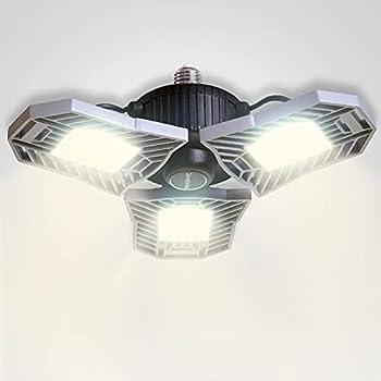 NATHOME 4000K Daylight 144 LED 60W Garage Light