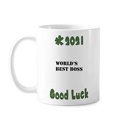 Best Superior Higher-up Art Deco Regalo Moda Buena Suerte 2021 Taza de cerámica café taza de porcelana