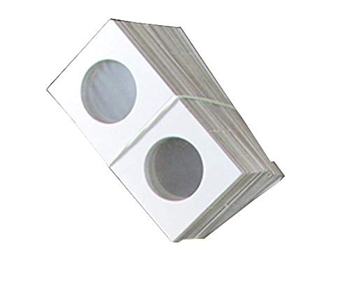 Guardhouse 2×2 Staple Paper Coin Holder for Small Dollar, 100 Pk