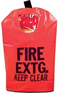 FIRE EXTINGUISHER COVER (With Window) for 10 to 20lb. Extinguisher, Medium 25 x 16 1/2 by BigDavesYardSale