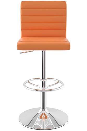 Sydney Bar Stool (Orange)