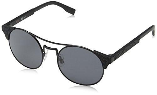 BOSS Orange BO 0280/S IR 003 Gafas de sol, Negro (MATT BLACK/GREY BLUEE), 52 Unisex-Adulto