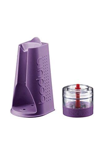 BODUM Set Häcksler und Ständer für BISTRO Mixer violett K11204-278