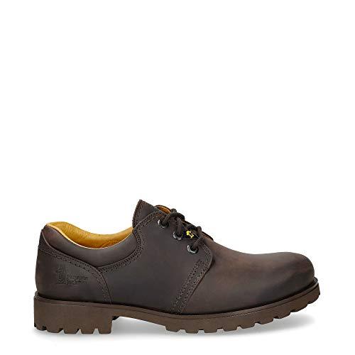 Panama Jack Panama C2 0201 - Zapatos de cordones para hombre, color Marrón (Brown C2) talla 45