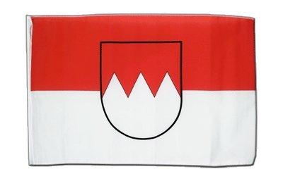 Deutschland Franken Flagge, fränkische Fahne 30 x 45 cm, MaxFlags®