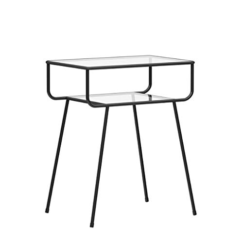 Mesita de noche, mesa auxiliar, mesa auxiliar Mesilla de noche moderna creativa...