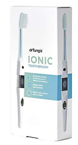 Dr. Tung\'s Sistema de cepillo de dientes iónico con cabezal de repuesto
