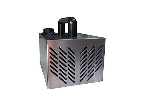 OL Generador de Ozono 5000 MG/h, Fabricado en España bajo Norma UNE 400-201-94, Garantía de 2 años y Reparaciones en 72 Horas. Purificación y Desinfección de Aire Habitaciones, Mascotas, Coches, Humo