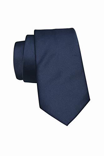 Corbatas de hombre hecha a mano, gran variedad de corbatas negras, azul ,estrechs ,anchs, clasicas (AZUL MARINO)