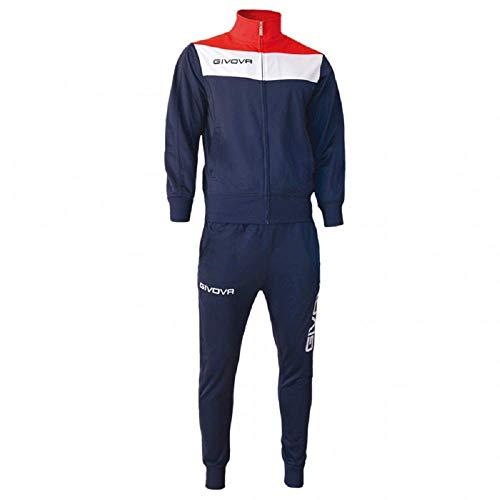 Givova, anzug spielfeld, blau/rot, M