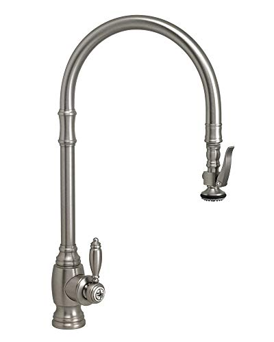 Waterstone 5500-SN PLP EXTENDED REACH PULLDOWN KITCHEN FAUCET TRADITIONAL