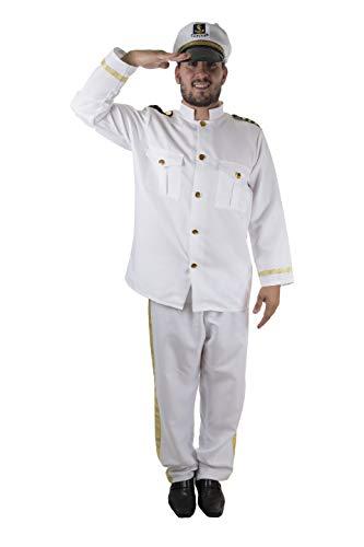 Costumizate! Disfraz de Marinero Adulto Especial para Fiestas de Disfraces y Carnaval Talla Unica
