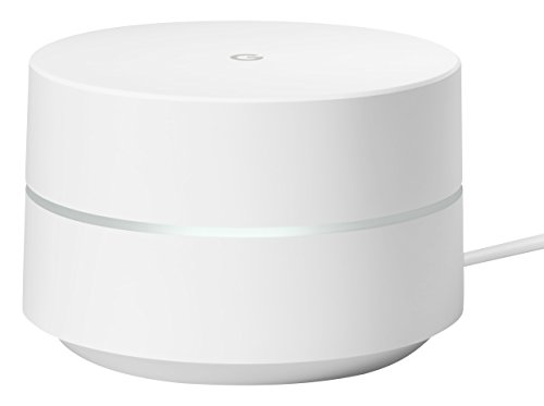 Google Wi-Fi Whole Home System, White, Single Pack