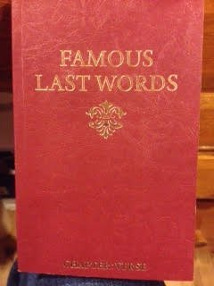 Unknown Binding Famous Last Words (Chapter:Verse) from the Bible teaching ministry of Charles Swindoll Book
