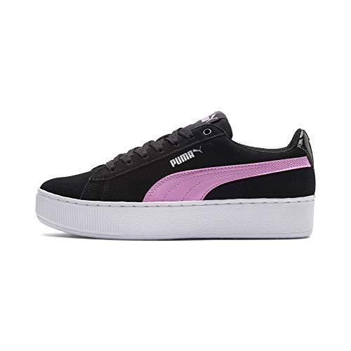 Puma Vikky Platform Jr zwart roze sneakers kids