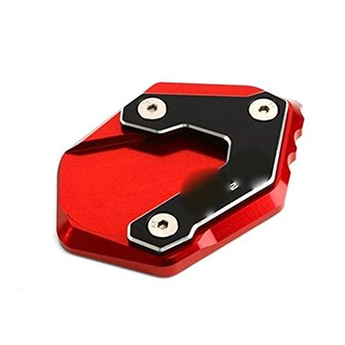 QTSM Plataformas para B-M-W R1250GS R1250HP R1250LC R1250GS R1250HP Placa De Soporte De Soporte De Extensión De Soporte Lateral De Motocicleta (Color : Red)