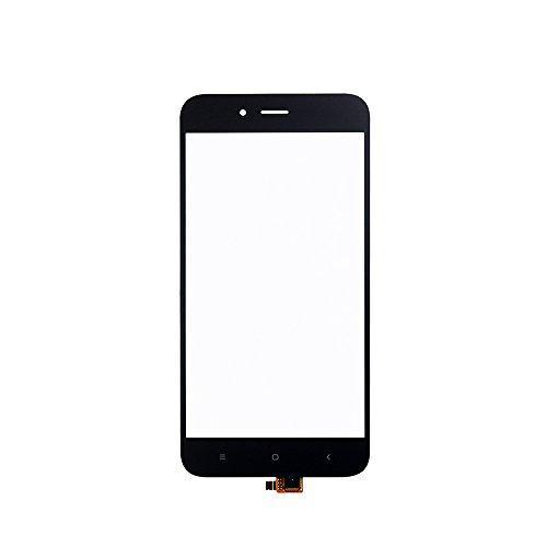 JayTong Pantalla de Repuesto Digitalizador Pantalla Táctil Frontal Vidrio con Gratis Herramientas para Xiaomi Mi A1 MiA1 / Mi 5X Mi5X (Not LCD Display) Negro