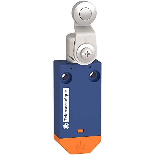 Interruptor de límite inalámbrico estándar XCMW del sensor Telemecanique OsiSense XC - palanca de rodillo de acero, XCMW116