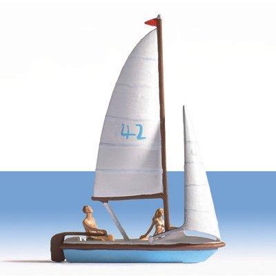 16824 - NOCH - HO - Segelboot, (Nicht schwimmfähig)