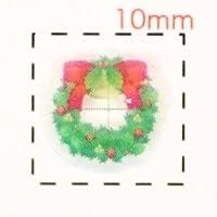 リース【クリスマス ネイル&デコシール】(1)/1シート9枚入