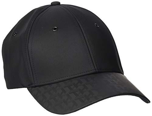 Tommy Hilfiger Herren Monogram Brim Baseball Cap, Schwarz (Black Bds), One Size