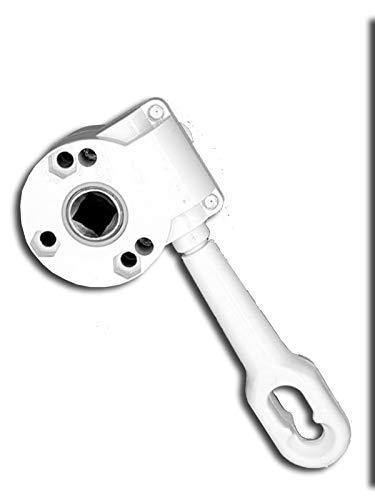 Arquati manuelles Kurbelgetriebe/Markisengetriebe für die Modelle SK, Siena, Horizon, Demi, COMPACT, Monaco und Monaco Variant, Fallarmmarkise Camelot, BI und BIC