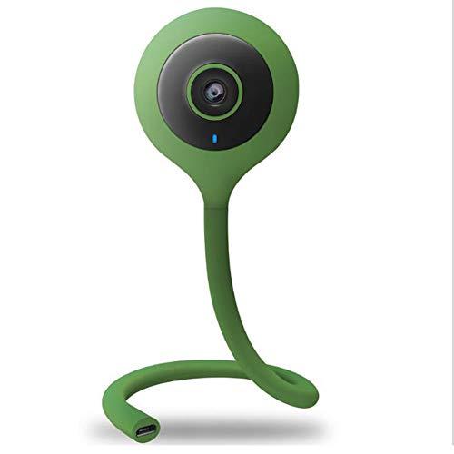 Moniteur sans Fil Bébé Caméra Nounou Deux Manières Audio Vision Nocturne WiFi Caméra De Surveillance Lullaby Moniteur De Température Baby-Sitter