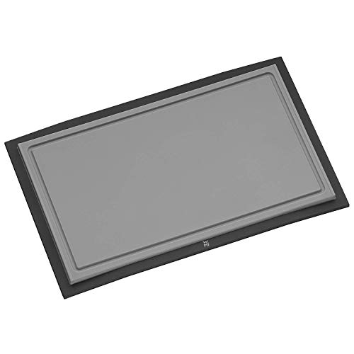 WMF Touch Tabla para Cortar, Acero Inoxidable, Negro