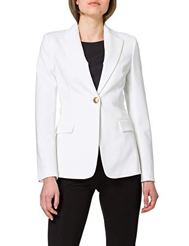 Pinko Sigma 2 Blazer, Z05_Bianco-biancaneve, 36 para Mujer