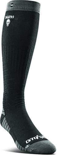 Thritytwo Diggers - Calcetines de merino para hombre - negro - Large/X-Large