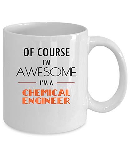 N\A Taza de café del Ingeniero químico. Regalo Ingeniero químico