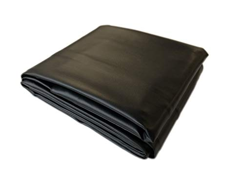 Black 8  Heavy Duty Leatherette Pool Table Cover - 8 Foot Billiard Table Cover