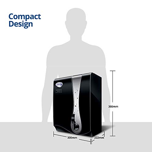 HUL Pureit Advanced Pro Mineral RO+UV 6 stage wall mounted counter top black 7L Water Purifier