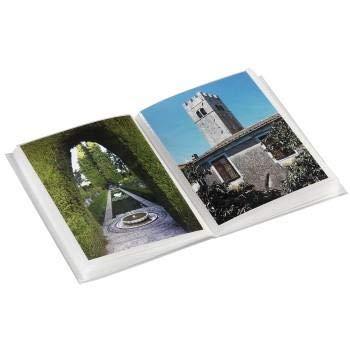 Mini Fotoalbum für 24 Fotos im Format 10 x 15 cm, Pastellfarben Rosa