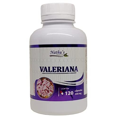 Valeriana 500mg 120 Cápsulas - Nathu's
