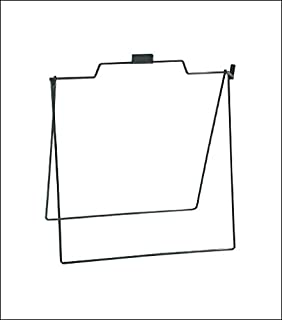 A Frame Metal Stand for Open House Sign for Realtor 18x24 Foldable, 5 Pack Black