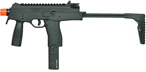KWA Gas Blow Back kmp9 ns2 Airsoft Machine Gun - Black(Airsoft Gun)