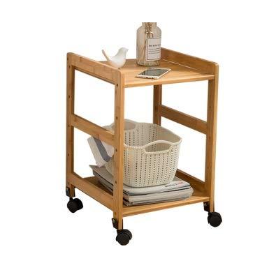 Table d'appoint Meuble latéral Amovible pour Le Salon Table d'appoint Simple et Moderne Matériau écologique (Couleur : B, Taille : 40cm)