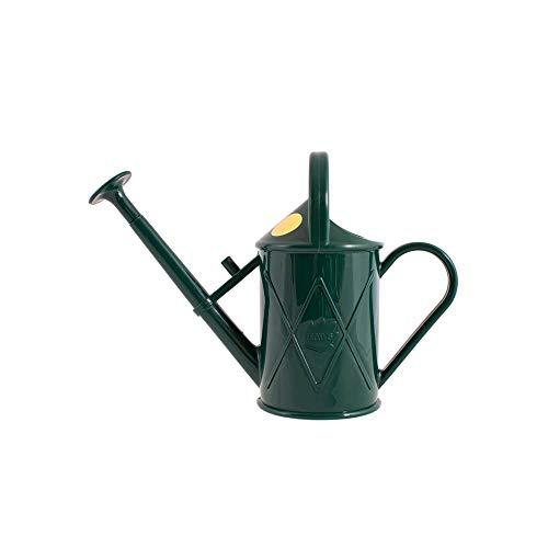 Haws V130GR Heritage - Annaffiatoio in plastica, 0,25 galloni, 1 litro, Colore: Verde