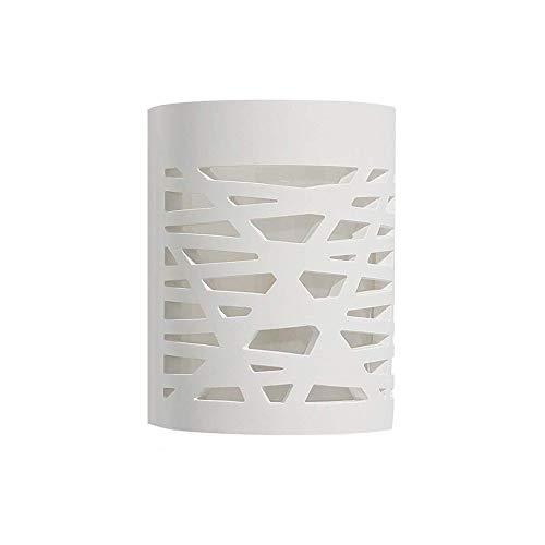 LSSB Wandleuchte Klassische Umweltschutz Energiesparende Pflaster-Wand-Lampe, Moderne LED-Wandleuchte Innen Hohle Schatten Wandlampen Nachttischlampe G9-Kunst-Dekoration Beleuchtung