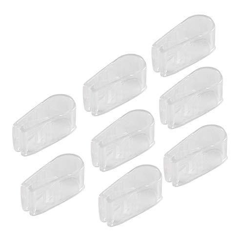 LUCYPAPASHOW Clip De Edredón 8 Piezas Plásticos