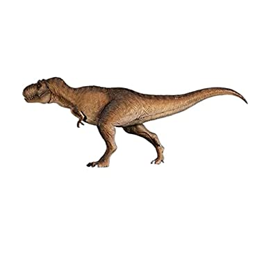 DUANCUICUIZ Model Tyrannosaurus Dinosaur Animal Collection Doll Brown (Color : with Retail Box)